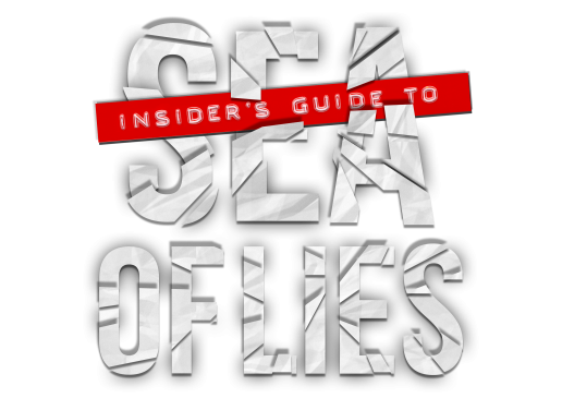Bradley West Conspiracy Thriller Insider's Guide to Sea of Lies